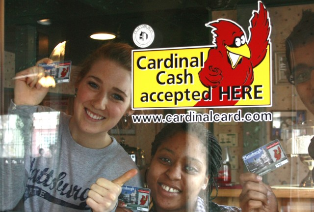 Cardinal Cash locations on and off campus!