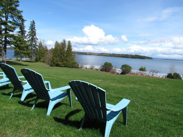 Sit a spell and enjoy the great views from the Main House lawn.